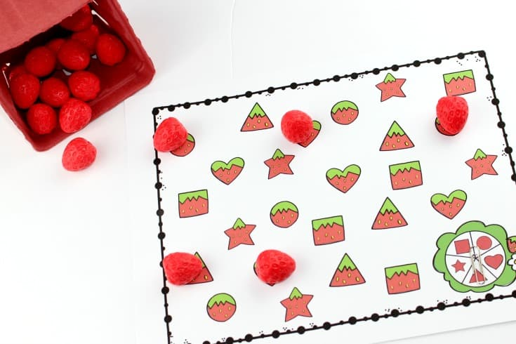 S is for Strawberry Preschool Learning Pack