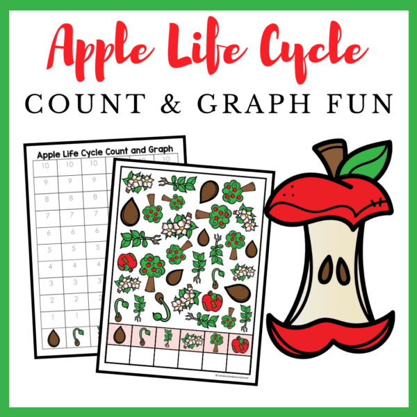 Apple Life Cycle Count and Graph