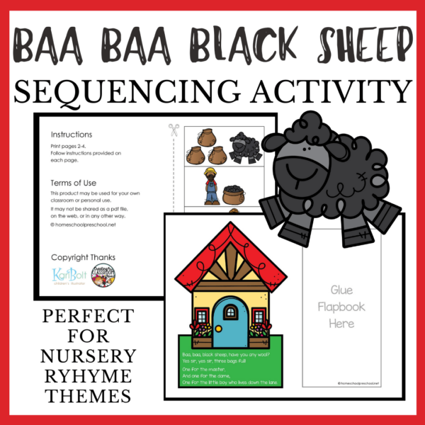 Baa Baa Black Sheep Sequencing
