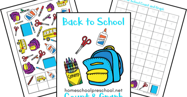 Back to School Count and Graph