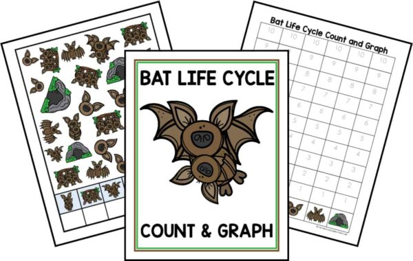 Bat Life Cycle Count and Graph