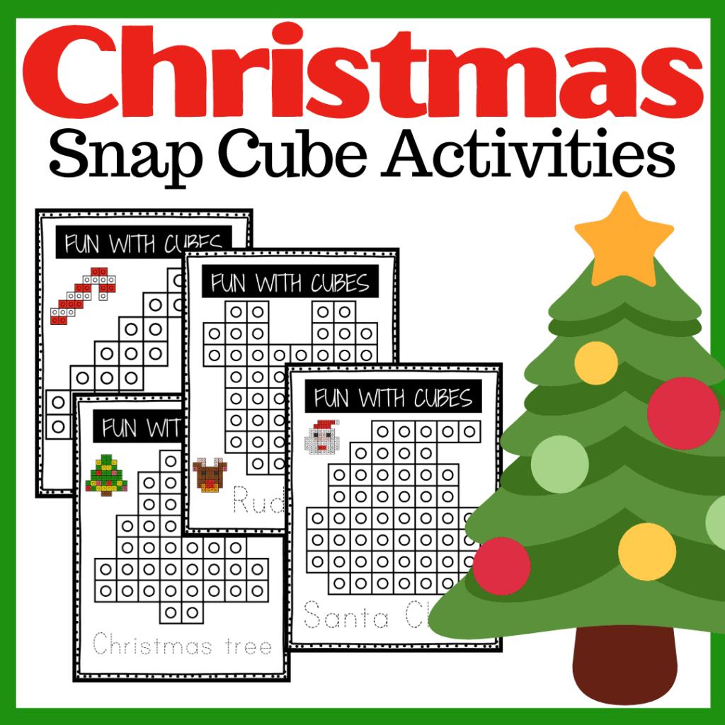 Christmas Snap Cubes Activities