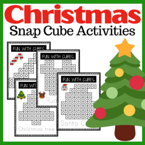 Christmas Snap Cubes Activities
