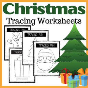 Christmas Tracing Cards