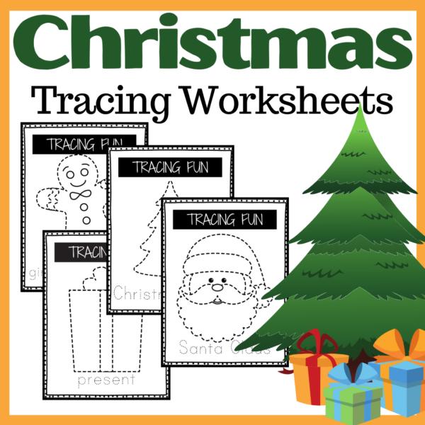 Christmas Tracing Cards
