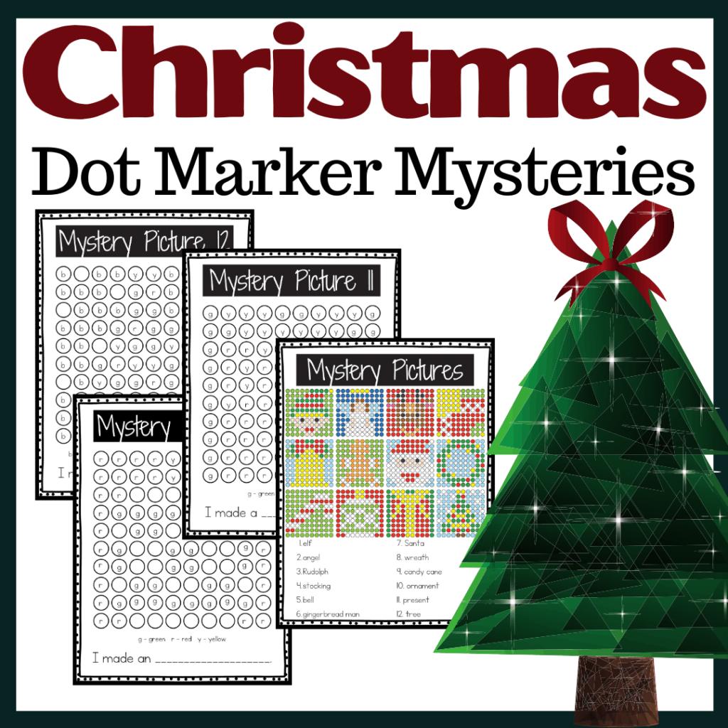 Christmas Dot Marker Printables
