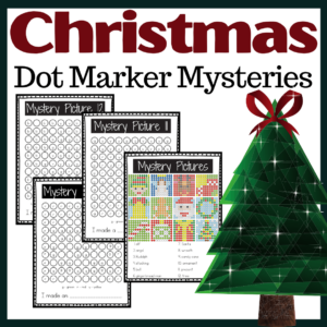 Christmas Dot Marker Printables