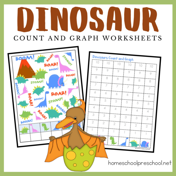 Dinosaur Count and Graph