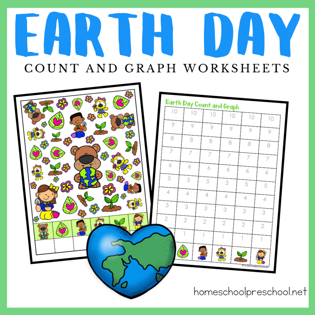 Earth Day Count and Graph