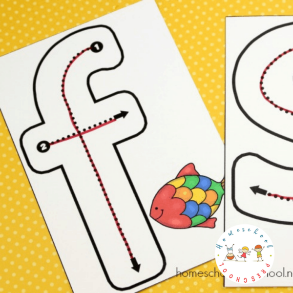 Letter Tracing Cards Preschool Busy Bag