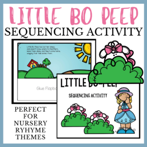 Little Bo Peep Sequencing