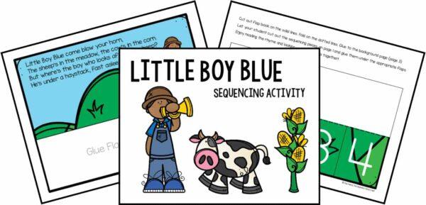 Nursery Rhyme Sequencing Bundle