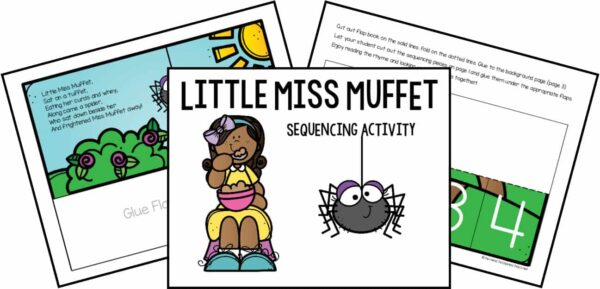 Little Miss Muffet Sequencing