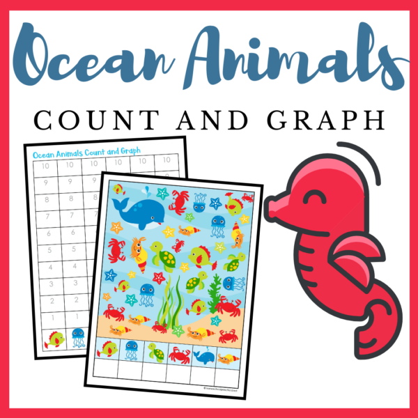Ocean Animals Count and Graph