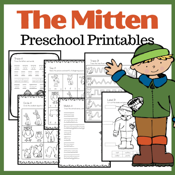 The Mitten Book Activities