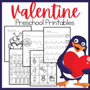 No Prep Valentine Printables