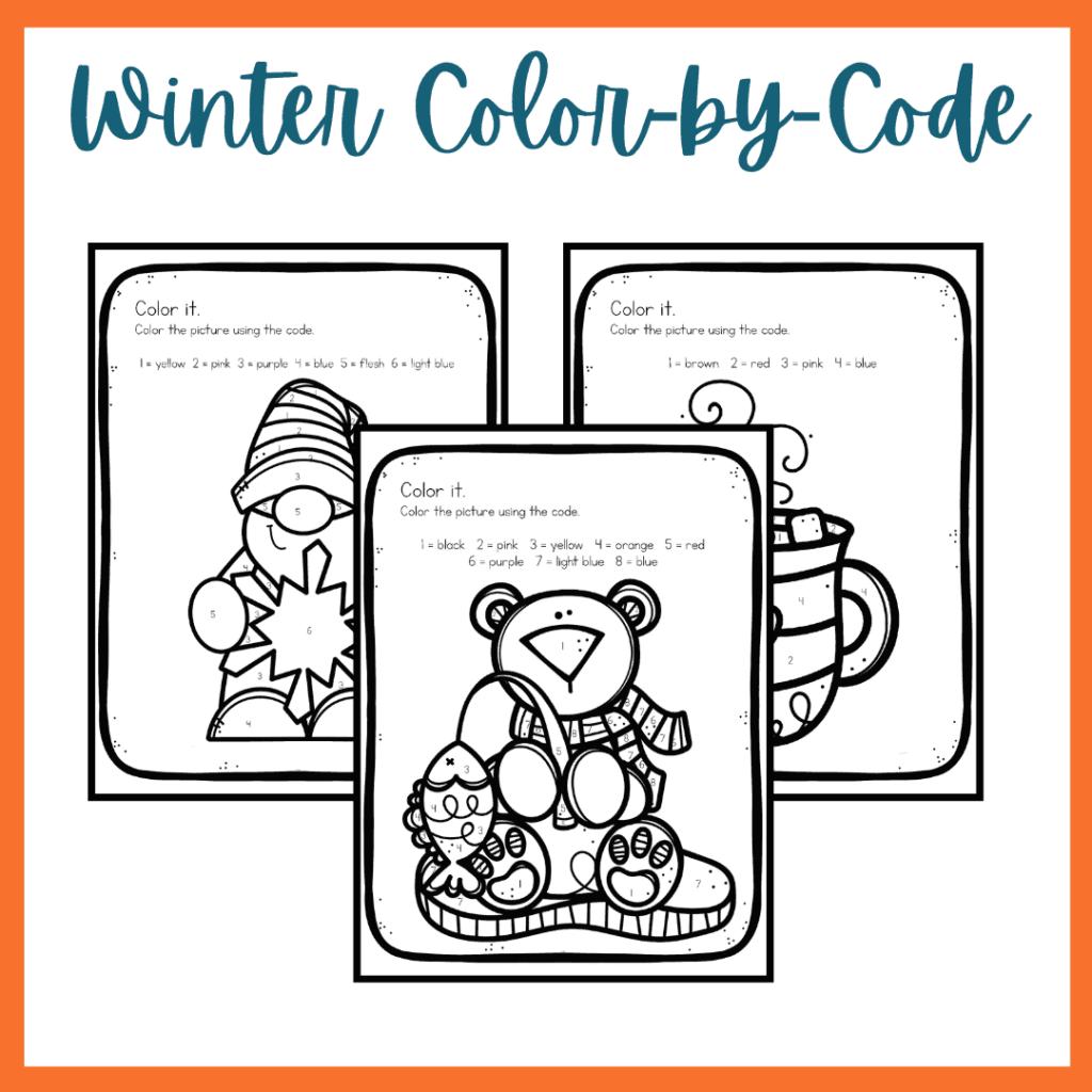 Winter Preschool Printables
