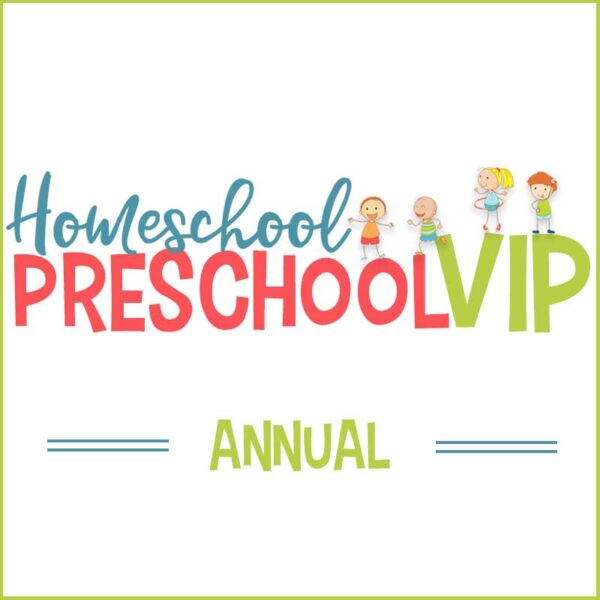 Homeschool Preschool VIP - Annual