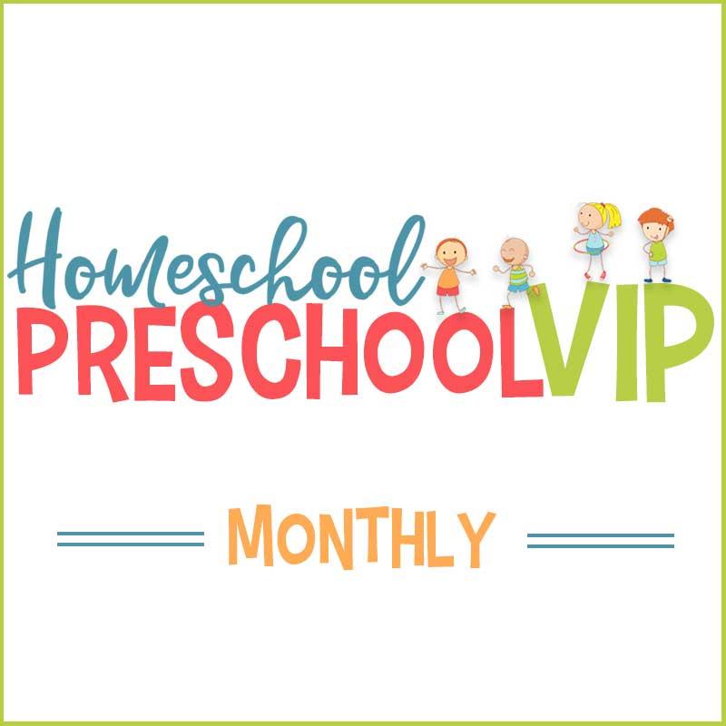 Homeschool Preschool VIP - Monthly